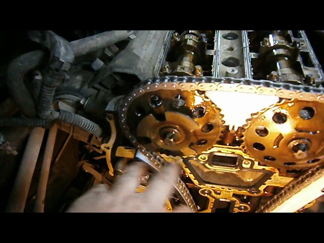 Opel Corsa (Z12XER) - Замена цепи ГРМ. ( Replacing the timing chain)